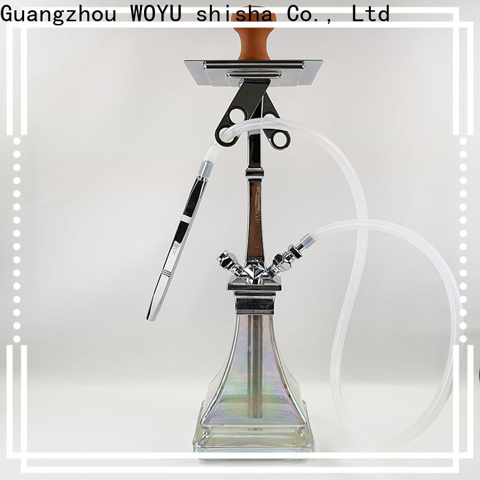 WOYU 100% quality zinc alloy shisha supplier for business