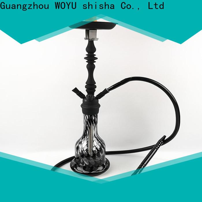 WOYU 100% quality zinc alloy shisha supplier for trader
