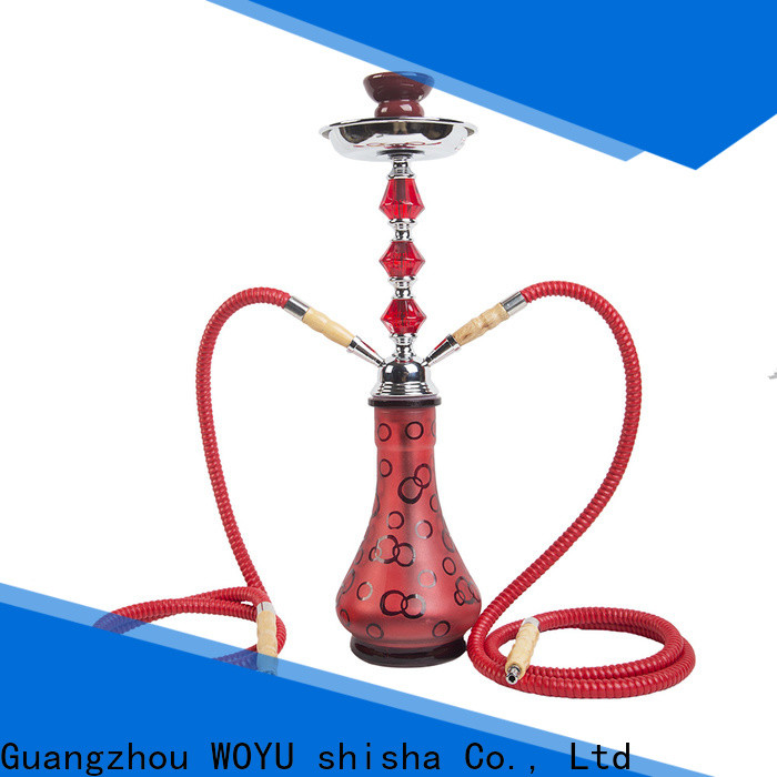 WOYU personalized iron shisha factory for b2b