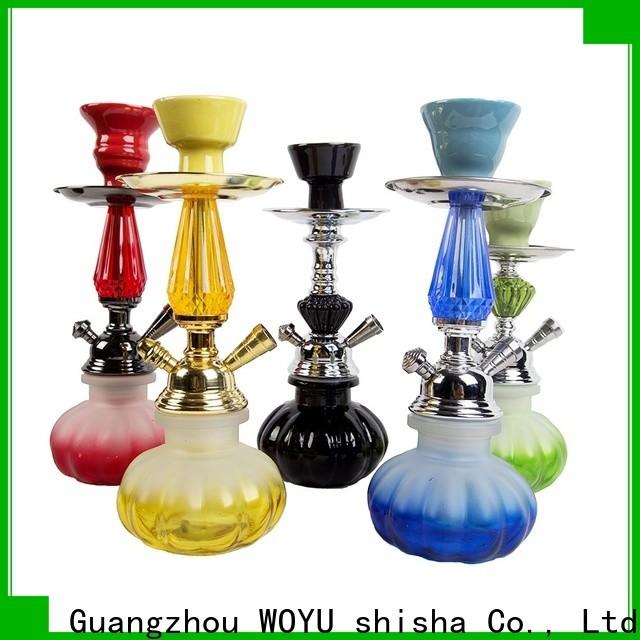 WOYU personalized iron shisha brand for importer