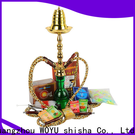 WOYU high standard iron shisha manufacturer for importer
