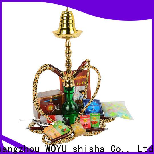 WOYU high standard iron shisha manufacturer for importer