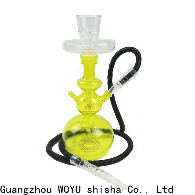 WOYU 100% quality glass shisha manufacturer for trader