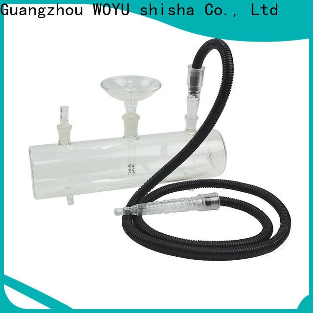 WOYU best-selling glass shisha manufacturer for business