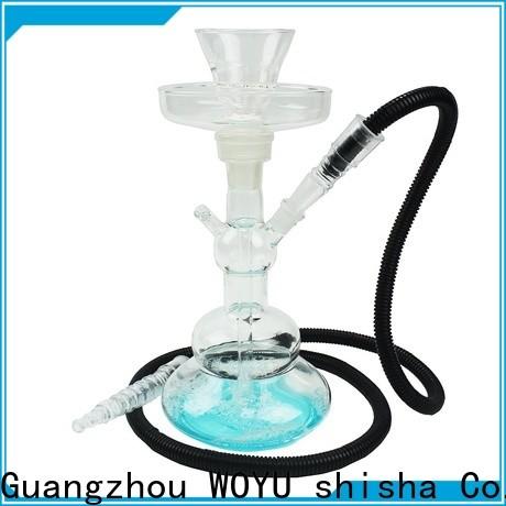 WOYU best-selling glass shisha supplier for trader