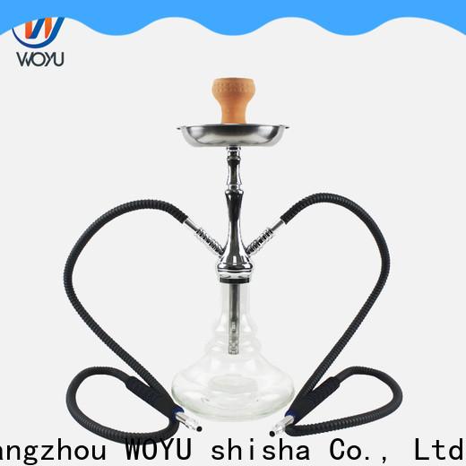 WOYU best-selling zinc alloy shisha factory for business