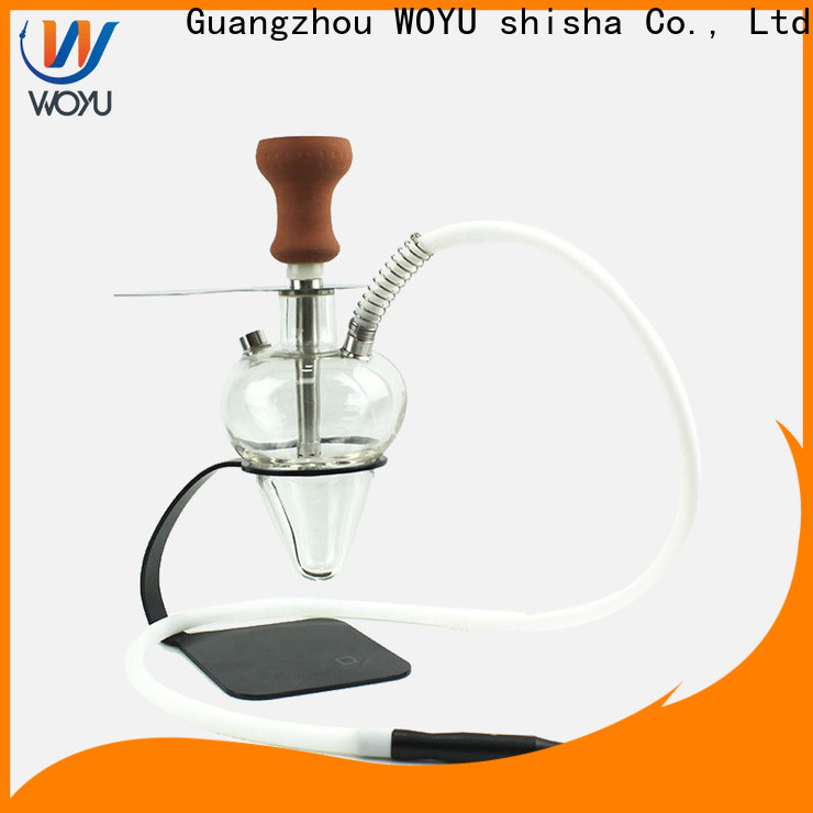 WOYU glass shisha brand for market