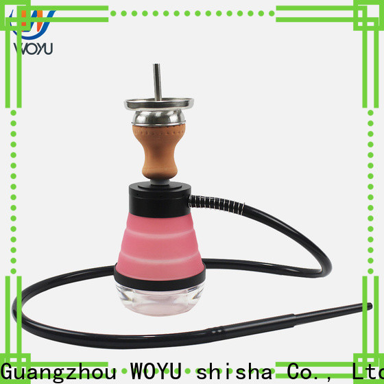 WOYU personalized silicone shisha factory for market