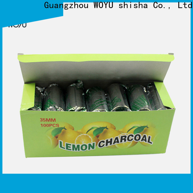 WOYU personalized shisha charcoal supplier for trader