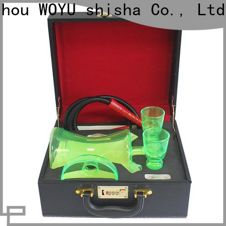 WOYU glass shisha factory for trader