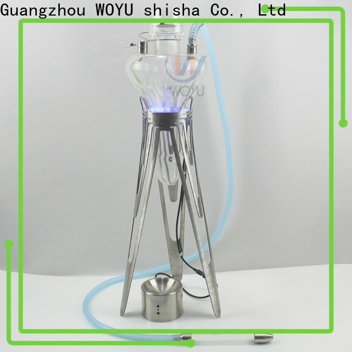 WOYU stainless steel shisha factory for market