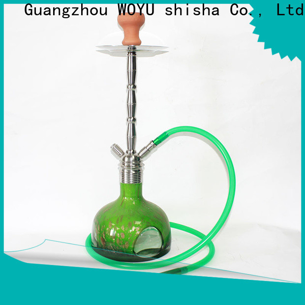 WOYU stainless steel shisha supplier for importer