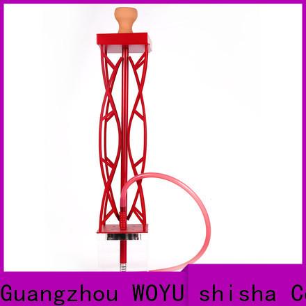 WOYU professional acrylic shisha wholesale for business