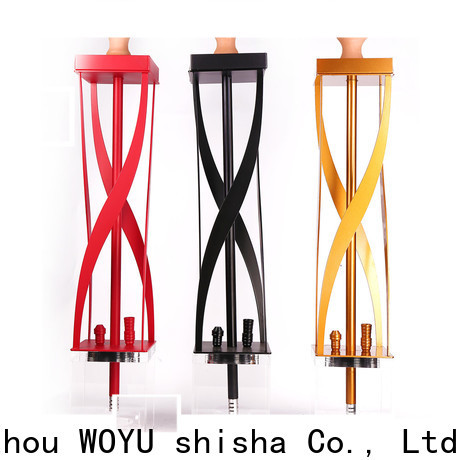 WOYU professional acrylic shisha one-stop services for trader