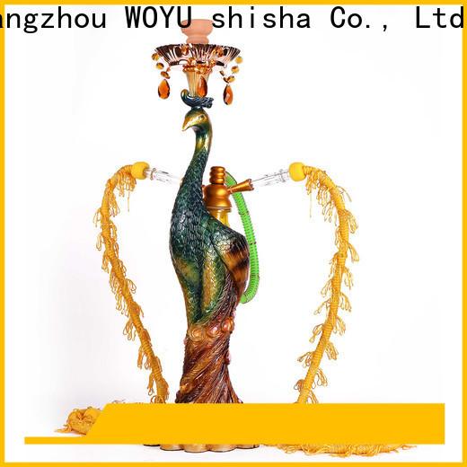 WOYU resin shisha manufacturer for trader