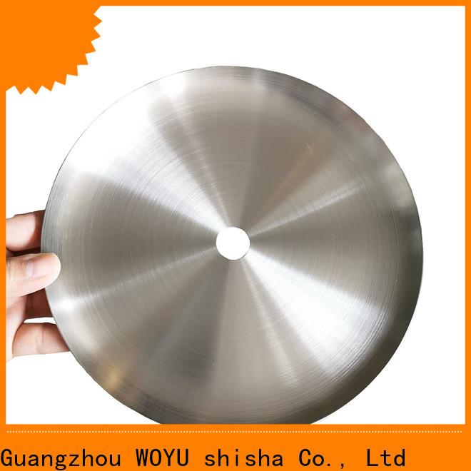 WOYU shisha plate factory for business