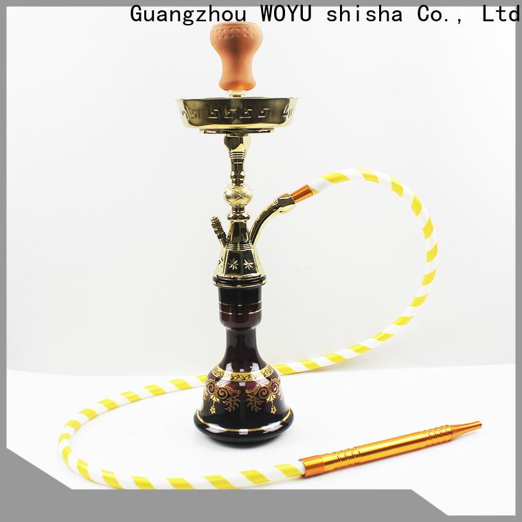 WOYU personalized zinc alloy shisha manufacturer for trader