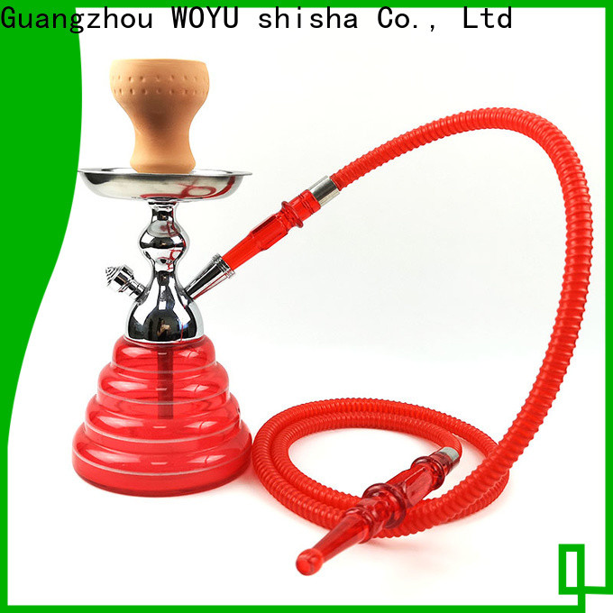 WOYU 100% quality zinc alloy shisha factory for trader
