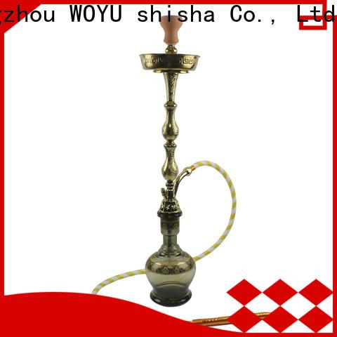 WOYU zinc alloy shisha supplier for market