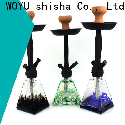 WOYU best-selling zinc alloy shisha factory for importer