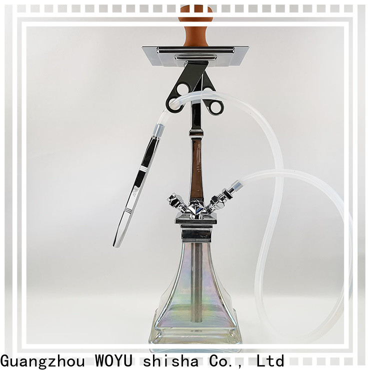 WOYU zinc alloy shisha supplier for business