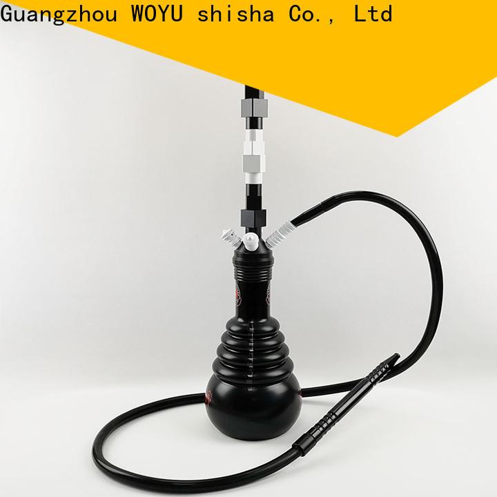 WOYU personalized zinc alloy shisha factory for trader