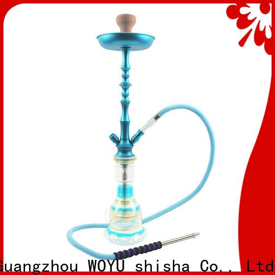 WOYU 100% quality aluminum shisha from China for b2b