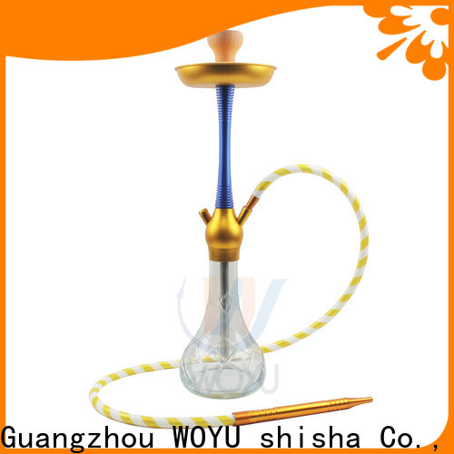 WOYU hot new releases aluminum shisha from China for b2b