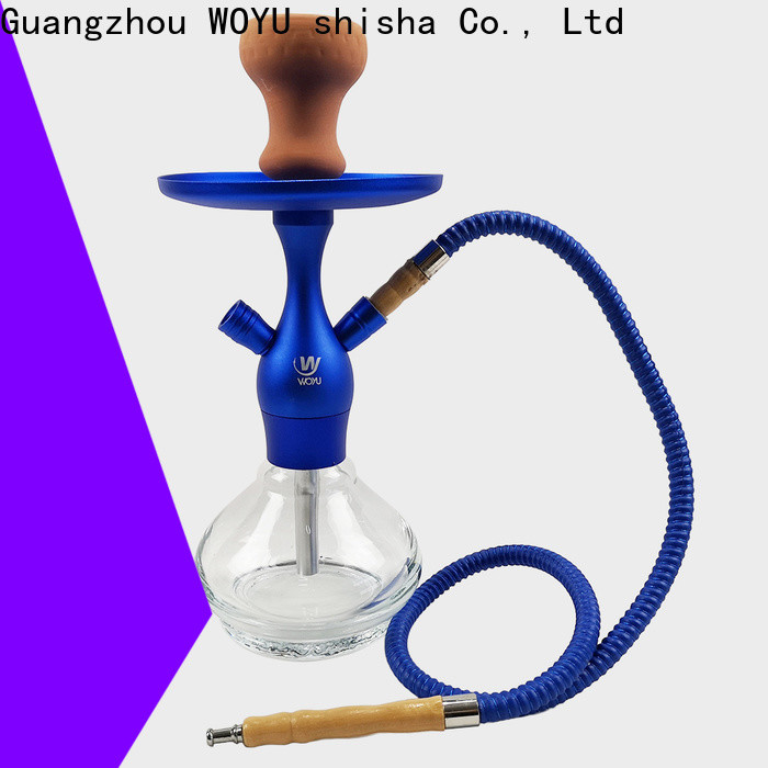 WOYU personalized aluminum shisha from China for market