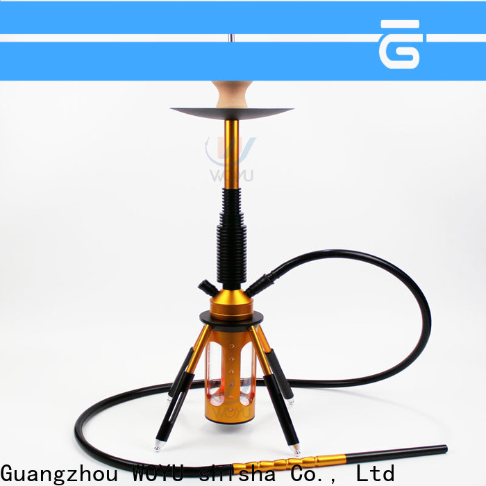 WOYU personalized aluminum shisha from China for trader