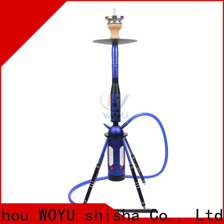 WOYU personalized aluminum shisha one-stop services for business