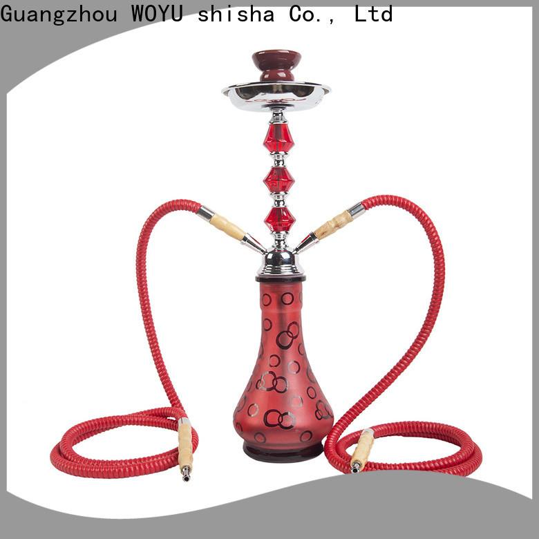 WOYU iron shisha manufacturer for trader
