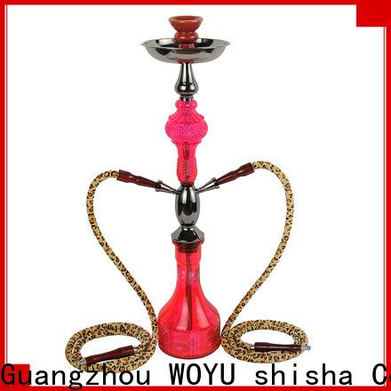 WOYU high standard iron shisha manufacturer for market