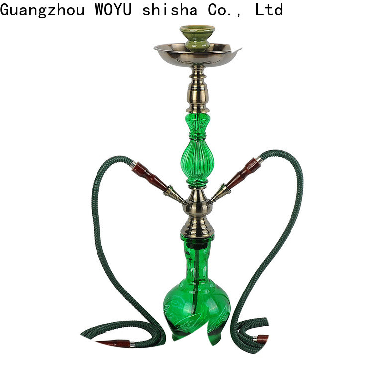 WOYU high standard iron shisha factory for market