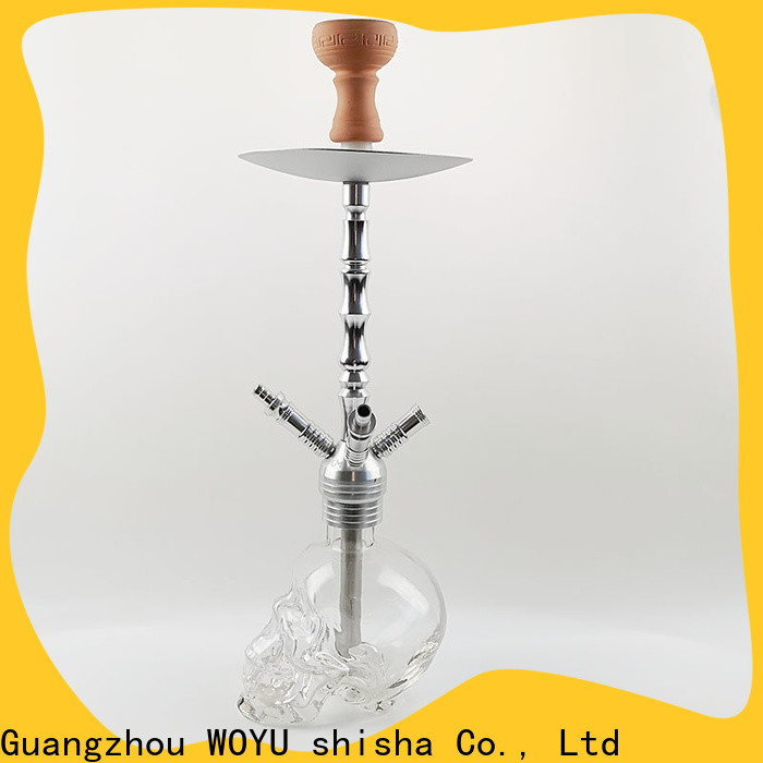 WOYU personalized zinc alloy shisha supplier for trader