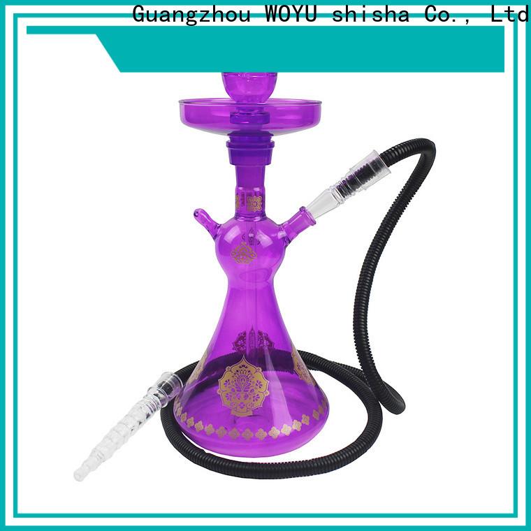 WOYU glass shisha brand for b2b
