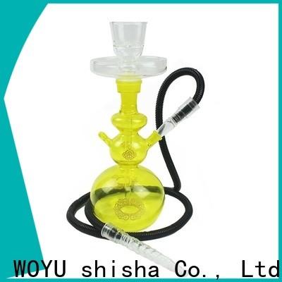 WOYU 100% quality glass shisha supplier for importer