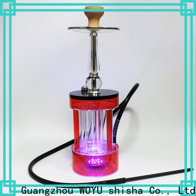 WOYU buy cheap acrylic shisha one-stop services for market