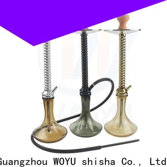 WOYU inexpensive aluminum shisha one-stop services for importer