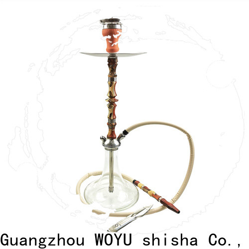 WOYU wooden shisha quick transaction for importer
