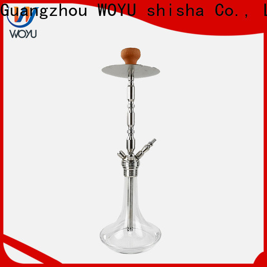 WOYU personalized stainless steel shisha supplier for market