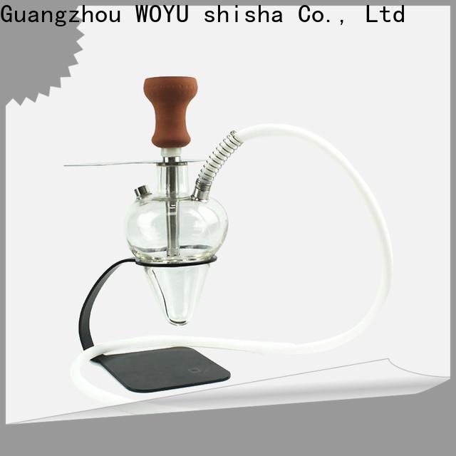 WOYU glass shisha manufacturer for trader