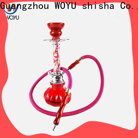 WOYU iron shisha factory for trader