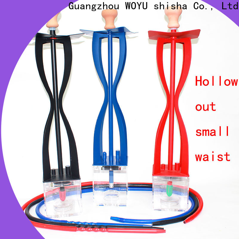 WOYU professional acrylic shisha wholesale for b2b