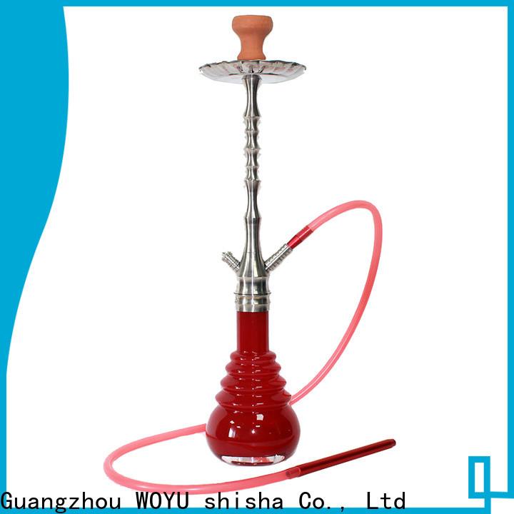 WOYU inexpensive stainless steel shisha supplier for market