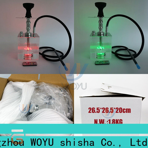WOYU inexpensive acrylic shisha from China for b2b
