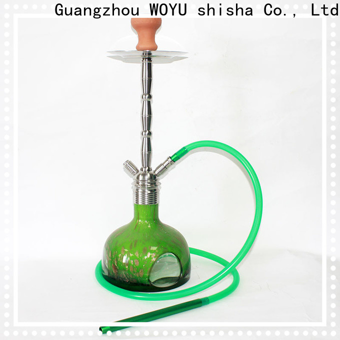 WOYU personalized stainless steel shisha supplier for trader