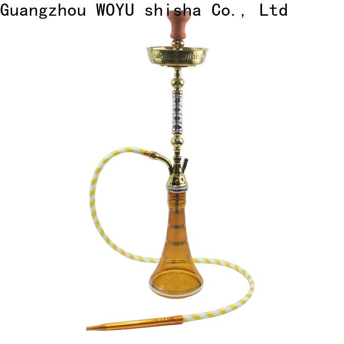 WOYU zinc alloy shisha supplier for importer