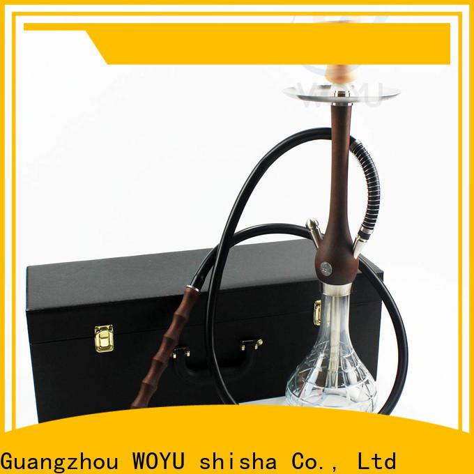 WOYU portable wooden shisha quick transaction for trader