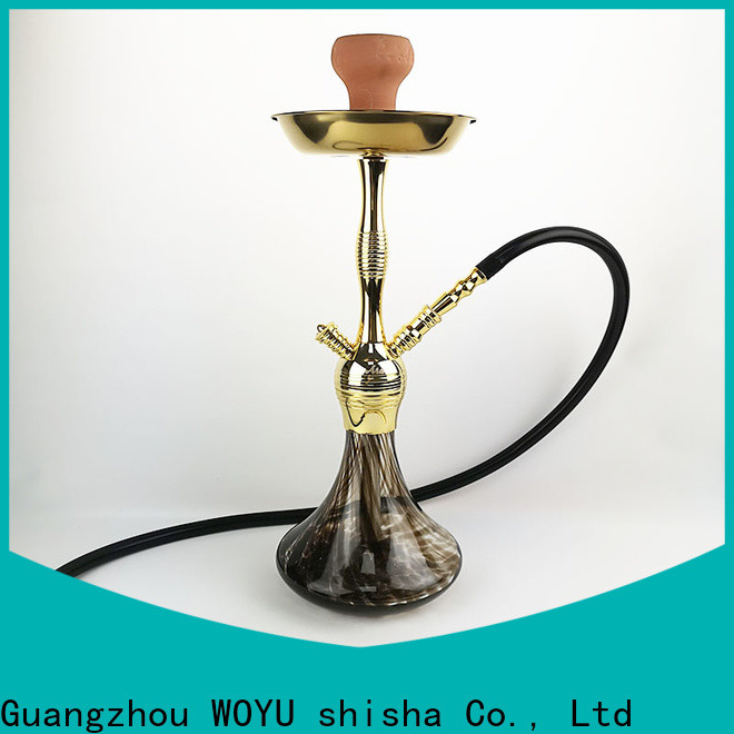 WOYU 100% quality zinc alloy shisha manufacturer for market